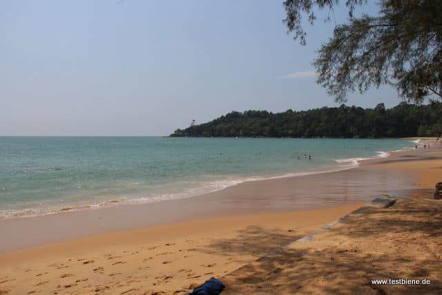am Strand war es immer schön leer