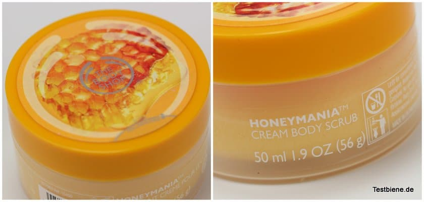 The Body Shopy Honeymania Body Scrub (50ml / 3,50€) - Box 2