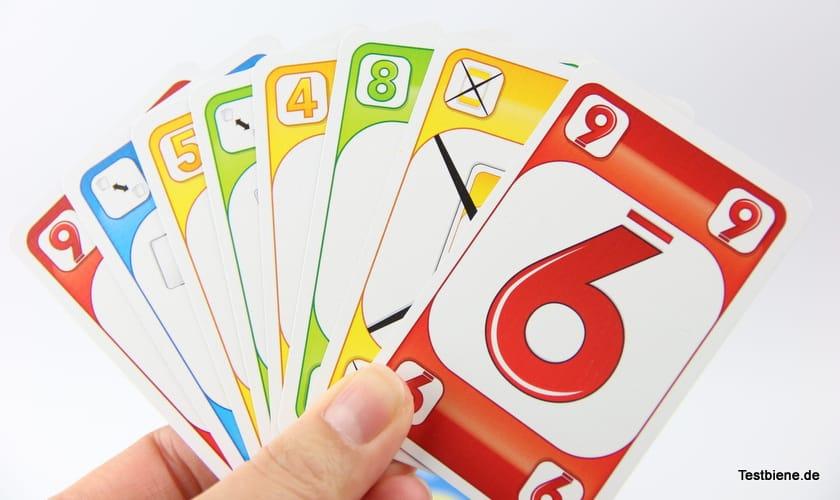 Karten auf der Hand