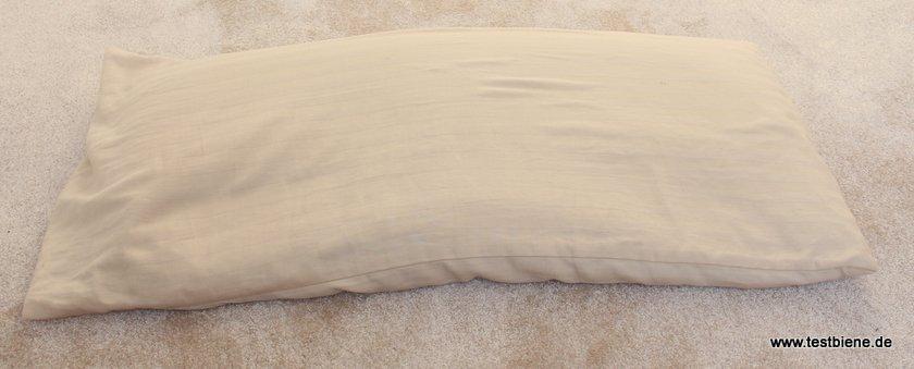 Schlafkissen 80x40cm mit Hirsepelz
