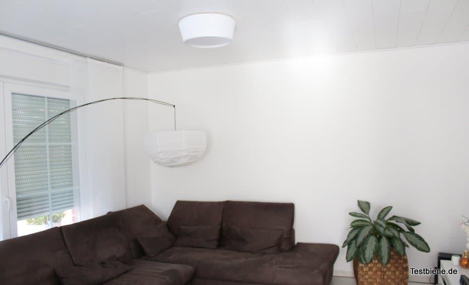 Die Wände sind noch etwas kahl, da fehlen noch die Bilder :-)
