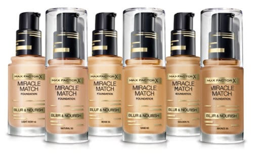 max factor miracle match foundation natural 50 testbiene. Black Bedroom Furniture Sets. Home Design Ideas