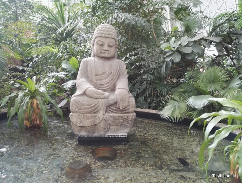 Statur im Tropical Island