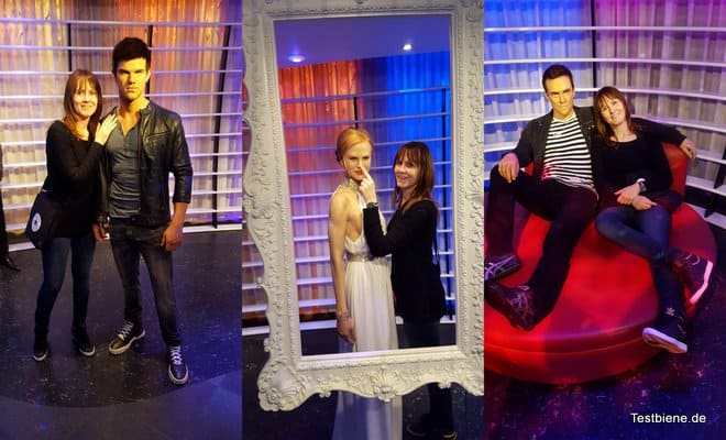 spontaner besuch bei madame tussauds in berlin testbiene. Black Bedroom Furniture Sets. Home Design Ideas