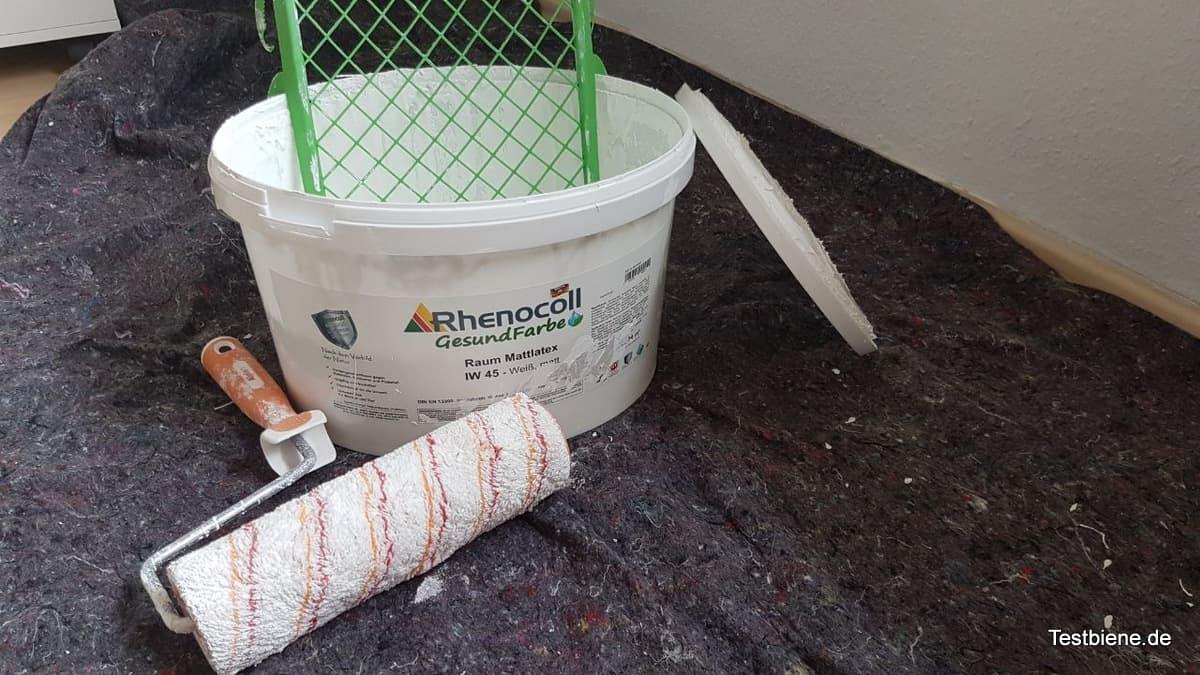 rhenocoll gesundfarbe projekt 1 b ro testbiene. Black Bedroom Furniture Sets. Home Design Ideas