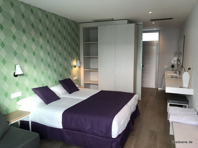 Zimmer im Hotel Nayra