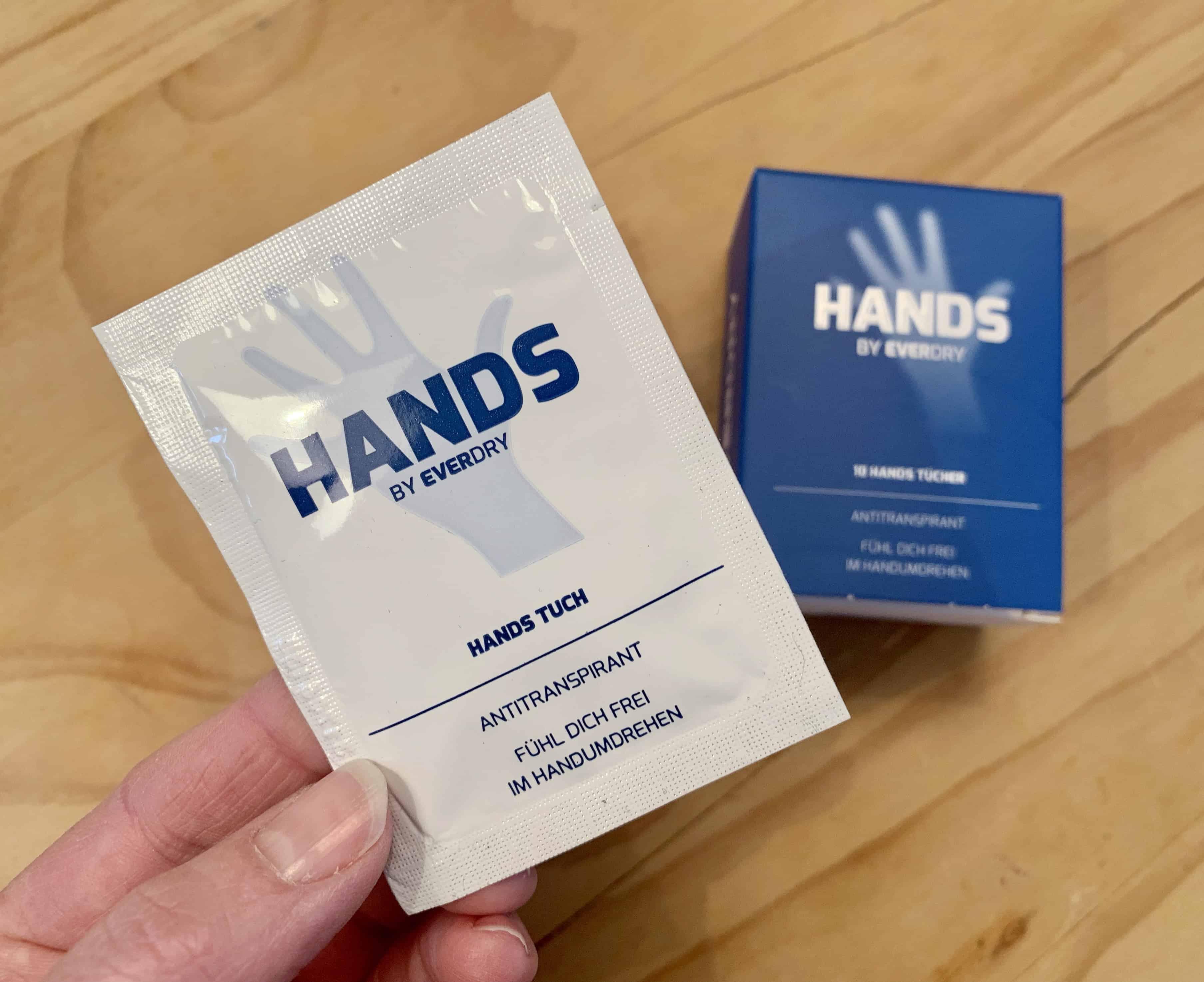 Antitranspirant Hände