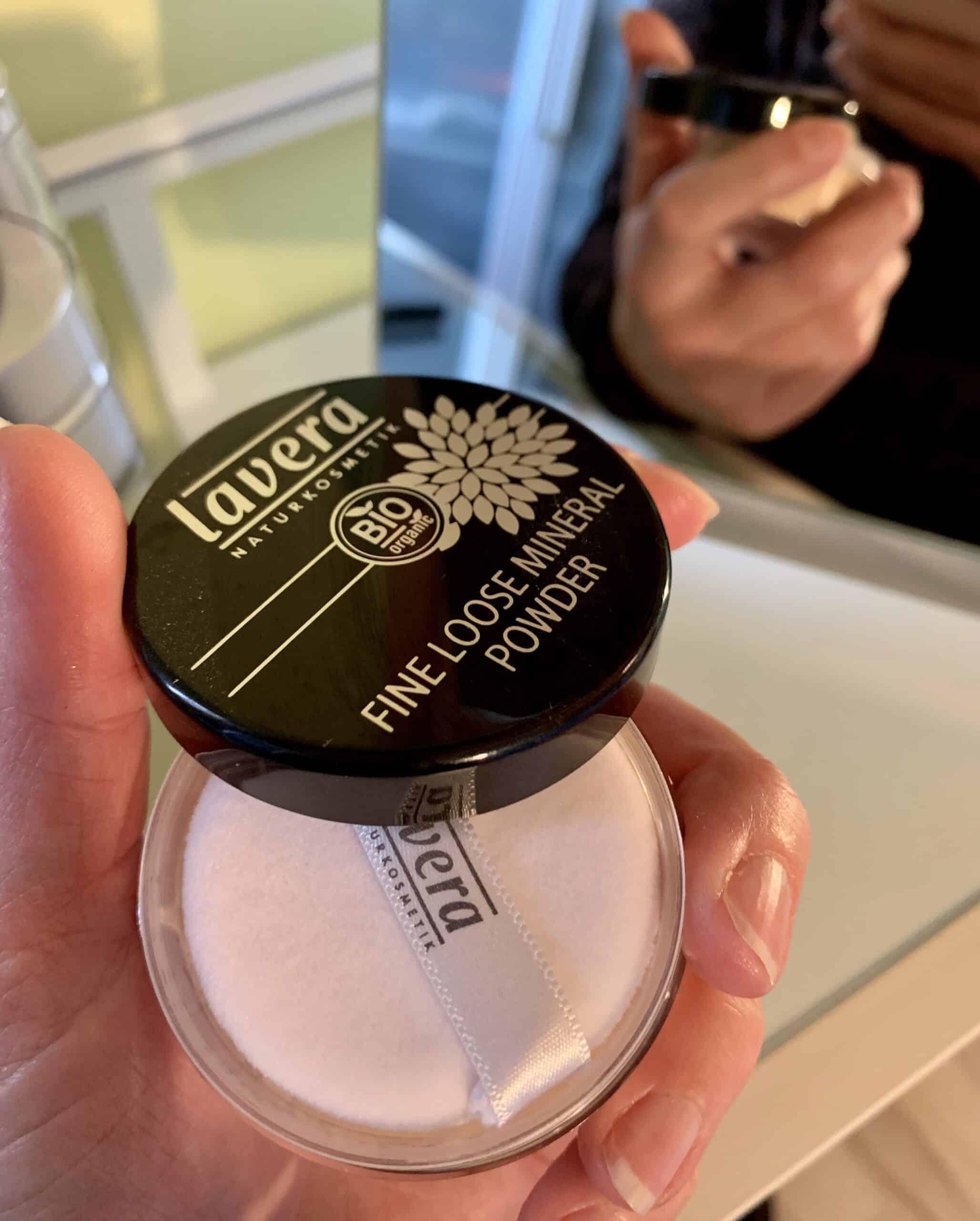 lavera mineral powder